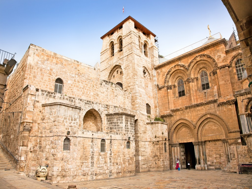 Church Of The Holy Sepulchre.Jerusalem.Israel